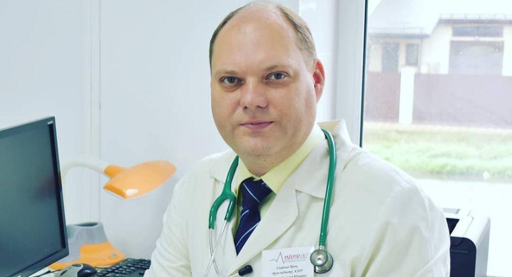 Педиатр, инфекционист и вакцинолог, главврач медцентра Лидер-Медицина Евгений Тимаков. Архивное фото