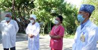 Медики Баткенской больницы. Архивное фото