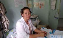 Бишкекке жакын жайгашкан Восток айылынын жалгыз фельдшери Толкун Рахматова