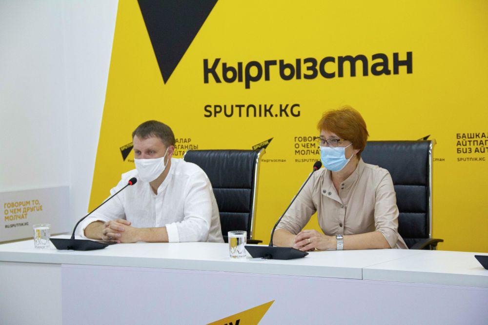 Участники брифинга рассказали, как врачи из России помогают кыргызстанским коллегам бороться против коронавируса