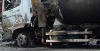 Последствия взрыва бензовоза. Иллюстративное фото