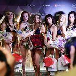 Победительница конкурса красоты и сексуальности Miss MAXIM 2020 Октябрина Максимова (в центре) и участницы финала