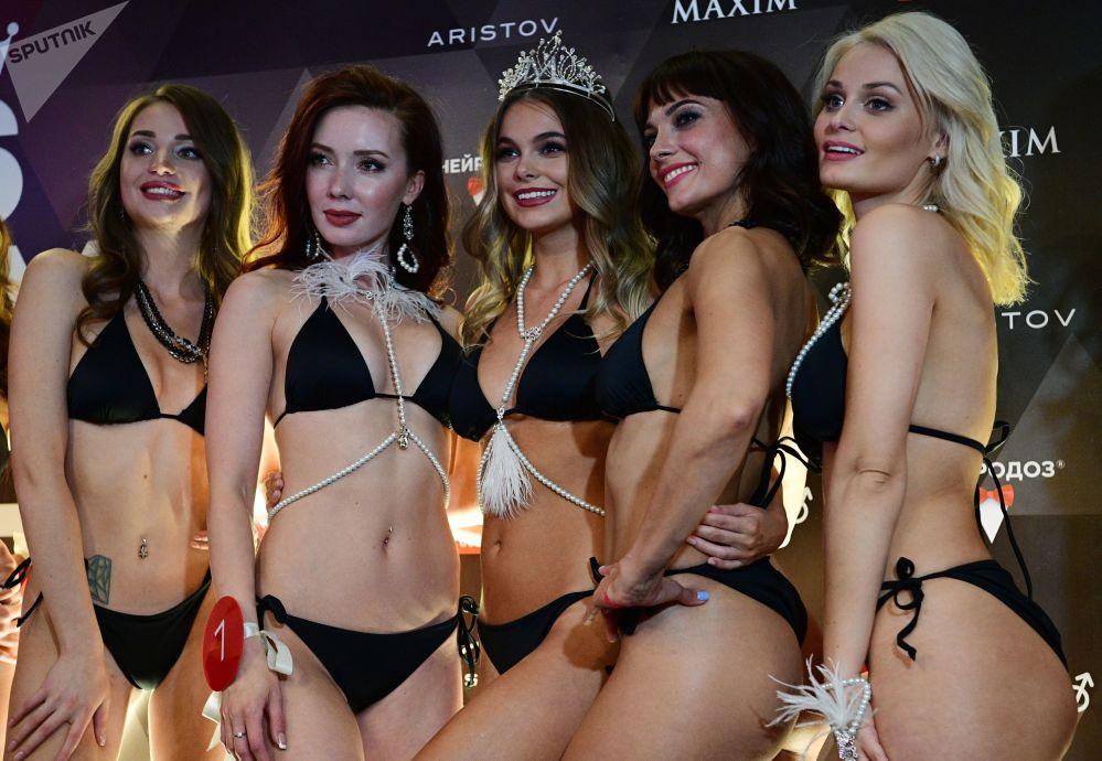 Второе место и звание вице-мисс достались москвичке Данике Данилевской, на третьем — Лилия Гильмиярова из Уфы