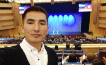 Открывший инвестиционные вклады в Москве кыргызстанец Доолотбек Талантбек