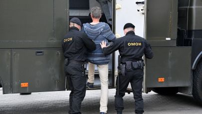 Правоохранители Белоруссии провели точечные задержания граждан. Архивное фото