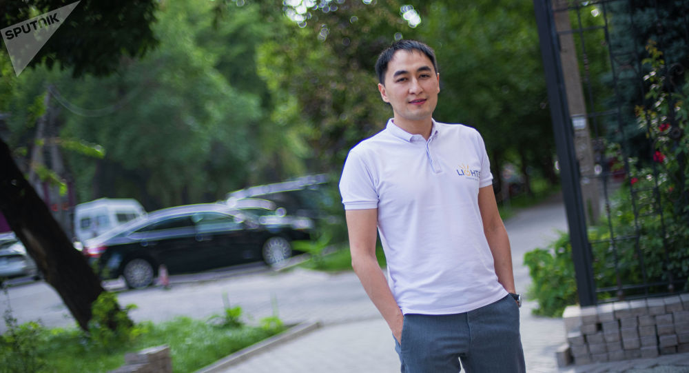 Директор продакшн-компании Нурлан Мирзаматов