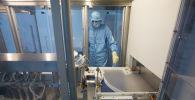 Производство вакцины от COVID-19 на фармацевтическом заводе. Архивное фото