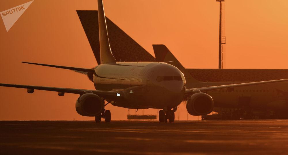 Пассажирский авиалайнер. Архивное фото