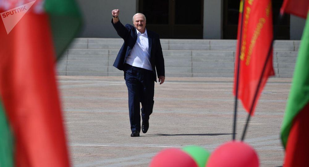 Белоруссия президенти Александр Лукашенко. Архивдик сүрөт