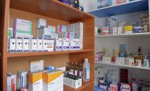 Медицинские препараты в одном из медицинских объектов Иссык-Кульской области. Архивное фото