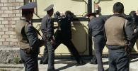 Задержание членов организованной преступной группы в Бишкеке