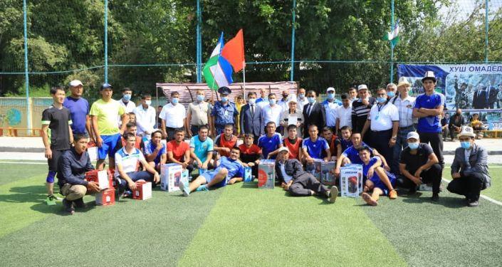 Близ границ Кыргызстана и Узбекистана (Сох) прошли спортивные соревнования для укрепления дружбы между народами