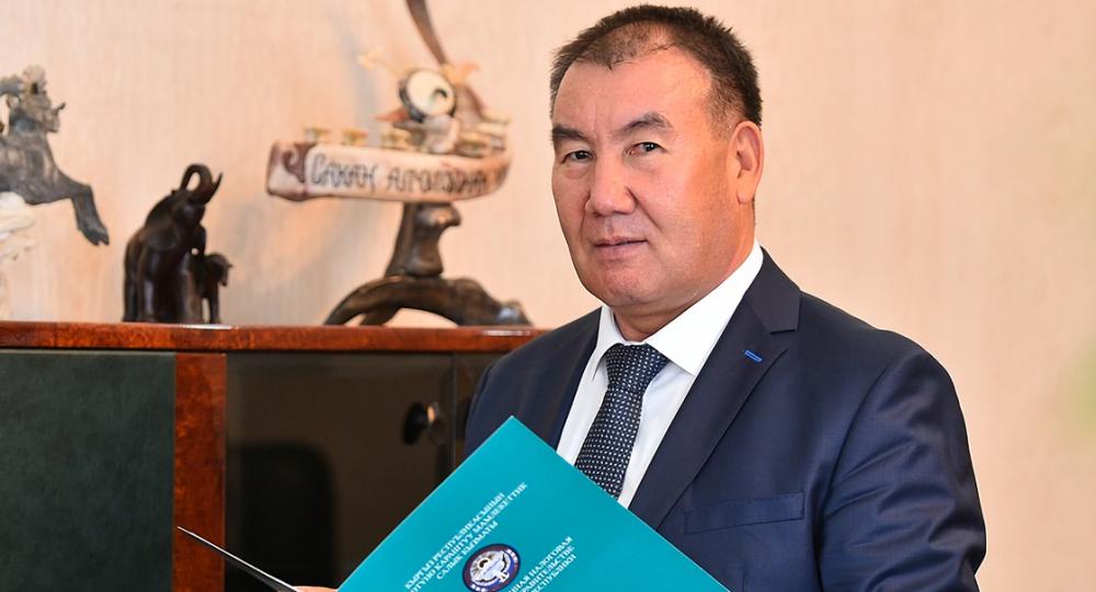 Председатель Государственной налоговой службы Кабыл Абдалиев. Архивное фото