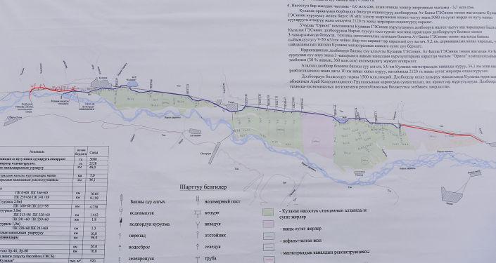 В Нарынском районе Нарынской области будет начато строительство Куланакского канала, который позволит обеспечить 5 тыс. га земли регулярной поливной водой и освоить новые 2 тыс. га земель