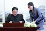 Түндүк Кореянын лидери Ким Чен Ын жана карындашы Ким Е Чжон. Архив