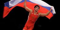 Российский борец, чемпион мира по вольной борьбе в категории до 74 килограммов Заурбек Сидаков. Архивное фото