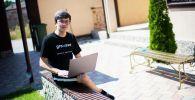 Молодой программист из Каракола Эльдар Галиев