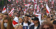 Минск шаарында ири каршылык акциясы