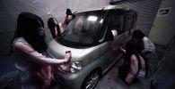 В Токио работает дом с привидениями в формате Drive-in