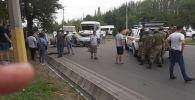 Бишкектеги Чолпон-Атинская көчөсүндө болгон жол кырсыгы