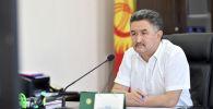 Бывший первый вице-премьер-министр КР Алмазбек Баатырбеков. Архивное фото
