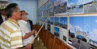 Полномочный представитель правительства в Иссык-Кульской области Балбак Тулобаев  вместе с архитекторами обсудил план развития Иссык-Кульской области.
