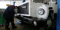 Автомашина ГАЗ 3309. Архивное фото