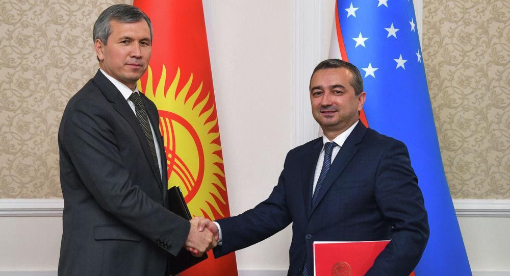 Переговоры правительственных делегаций Кыргызстана и Узбекистана по делимитации и демаркации границы