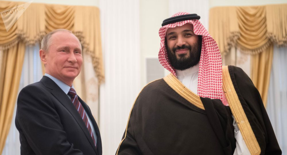 Владимир Путин жана Мухаммед бин Салман. Архив
