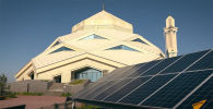 В Нур-Султане мечеть вырабатывает солнечную энергию, которой обеспечивает не только себя — излишки продают горожанам.