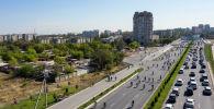 Участники велопробега в Бишкеке. Архивное фото