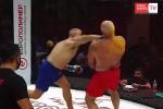 На турнире Fight Nights Global боец отправил противника в нокаут всего через 14 секунд после начала поединка.