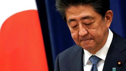 Япониянын мурдагы премьер-министри Синдзо Абэ. Архив