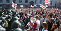 Акция оппозиции в Минске. Архивное фото