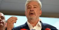 Черногориянын келечеги үчүн деп аталган оппозиция коалициясынын лидери Здравко Кривокапич. Архивное фото