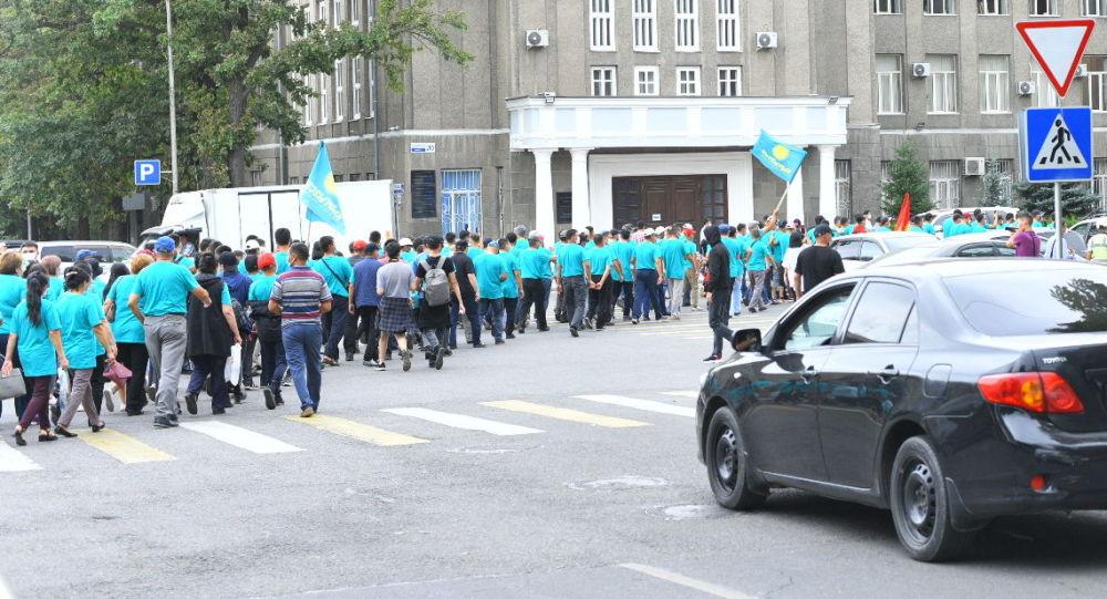 Жогорку сот Кыргызстан партиясын шайлоодон четтетүү боюнча Борбордук шайлоо комиссиясынын кассациялык арызын карап жатат.