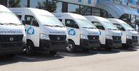 Специальные микроавтобусы, оснащенный всем необходимым техническим оборудованием для оказания услуг паспортизации, регистрации записей актов гражданского состояния.