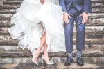 Жених и невеста на бракосочетании. Иллюстративное фото