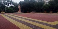 В Бишкеке завершена реконструкция сквера имени Максима Горького на пересечении улиц Исанова и Рыскулова