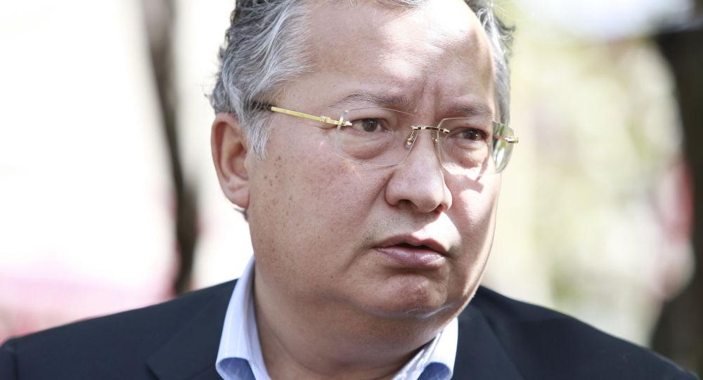 Бывший начальник Службы госохраны Жаныш Бакиев. Архивное фото