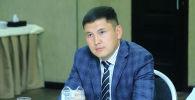 Ордо саясий партиянын лидери Мирбек Мияров. Архив