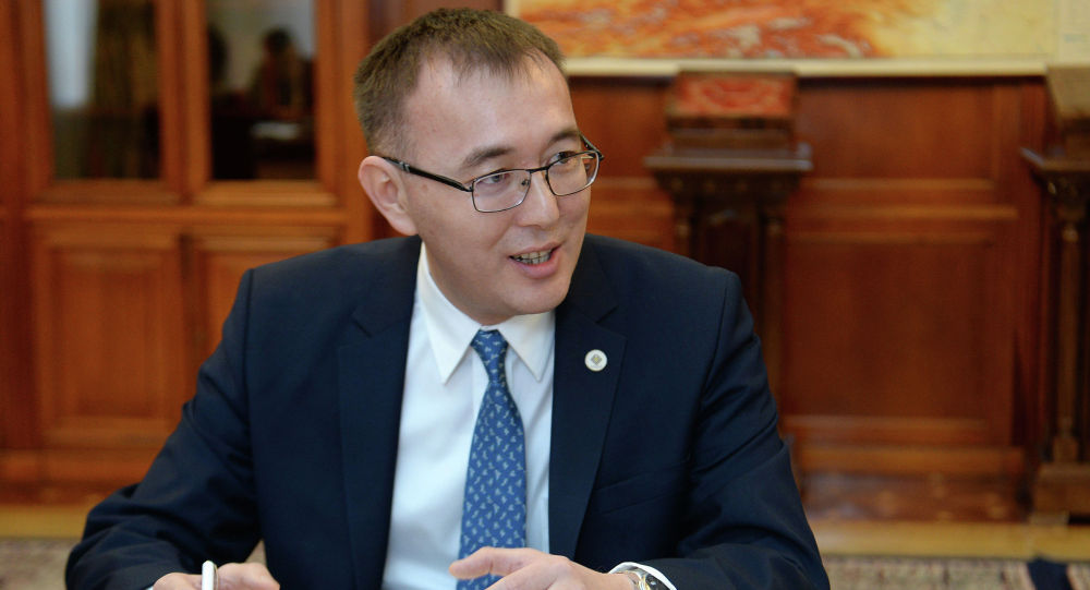 Председатель НБКР Толкунбек Абдыгулов. Архивное фото