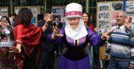 На праздновании Дня культуры народов Центральной Азии на площадке Общества туркменской культуры в Москве