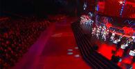 В Подмосковье с 23 августа по 5 сентября проходили VI Армейские международные игры АрМИ-2020. Церемония закрытия проходит на полигоне Алабино.