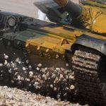 Танк Т-72 команды военнослужащих Казахстана