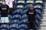 Криштиану Роналду Порту шаарындагы Драгау стадионунда Португалия менен Хорватия командалары ойноп жаткан учурунда