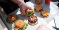 Гамбургеры. Архивное фото