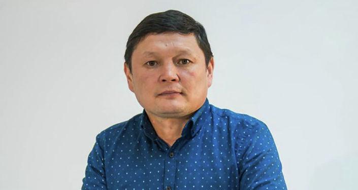 Кандидат в депутаты ЖК от партии Чон казат Сыймык Жапыкеев