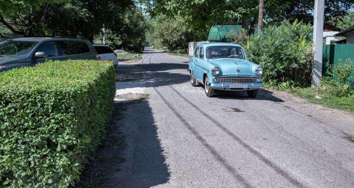 Ретро-автомобиль Волга, которую восстановил реставратор Александр Кондрахин