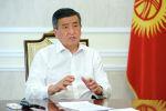 Президент Сооронбай Жээнбеков КТРКнын Биринчи радиосуна берген кезектеги маегинде